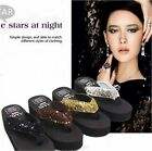 Sandals Platform Flip Flops Outdoor Sandals Sequin Platform Casual Slippers - CB