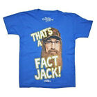 "Duck Dynasty ""That's a Fact Jack"" Blue T Tee Shirt For Boys Size S L XL New"
