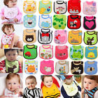 New Baby Infants kids bibs/ baby lunch bibs/ cute towel 3 Layer Waterproof