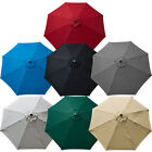 New Umbrella Replacement Cover Canopy 9 FT Feet 8 Ribs Top Patio Market Outdoor