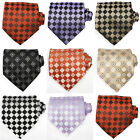 Checkered Ties UK | Formal Checkered Neckties - High Quality Silk Ties UK