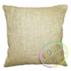 nk40a Thick Linen Pale Brown Beige Cushion Cover/Pillow Case*Custom Size*
