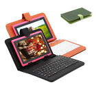 "iRulu 7"" Android 4.2 Dual Core Cam Tablet PC 8GB WIFI Pink w/Gridding Keyboards"