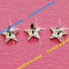 Genuine Swarovski 2816 Rivoli Star 5mm (Hotfix) Iron On Crystal Clear Rhinestone