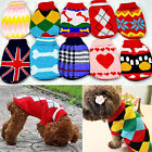Pet Dog Warm Jumper Sweater Clothes Puppy Cat Knitwear Costume Coat Apparel New
