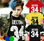 KPOP Bigbang G-Dragon T-shirt GD New Style Unisex Short   Sleeve