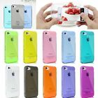 Conjoined Anti-Dust Plug Cap TPU Rubber Crystal Case Cover For iPhone 4 4S 5S 5