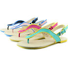 U Thong Gladiator Sandals Flip Flops Flats Casual Slip On Strappy Beach Shoes