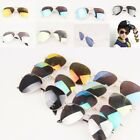 New Mirrored Lens Boys Girls Fashion Aviator Summer UV400 Protection Sunglasses