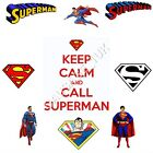 Superman Iron on T Shirt Transfer Many Designs A6 A5 A4 Free Post .