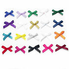 various colours and amounts of satin 7mm ribbon bows