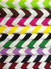 "1"" Chevron Fabric, by the Yard, 100% Cotton, Choice of Color"