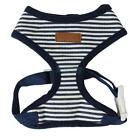 Dog Puppy Striped Adjustable Harness Clothes Walk Collar Safety Strap Vest XS-XL