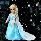 "Hot Sparkle Snow Princess Dress Doll Clothes For 18"" American Girl Handmade"