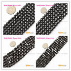 "Magnetic Black Tapered Cylinder Hematite Beads stone Strand 15"" Size Selectable"