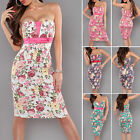 Retro Pinup Rockabilly Floral Dress - XS / S / M / L