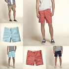 BNWT Hollister by Abercrombie Mens Classic Beach Prep Fit Shorts All Sizes 2014!