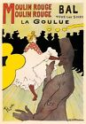 AP152 Vintage French Moulin Rouge Paris Advertisement Poster Print A1/A2/A3/A4