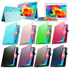 Folio Stand PU Leather Case Smart Cover For Samsung Galaxy Tab 4 10.1 SM-T530