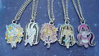 MoNSTeR HiGH PeNDaNT CHaRaCTeR DoLL NeCKLaCe GoTHiC GiRL DRaCuLaURa CLeO De NiLe