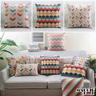 NEW Vintage Cotton Linen Cushion Cover Home Decor Decorative pillow 3 color