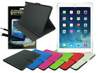 Leather Folding Case with Inner Card Slot+Screen Cleaner Pad for Apple iPad Air