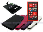 Leather Wallet Case Cover for Nokia Lumia 920 with Card Slot
