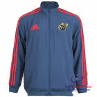 Adidas Munster Rugby Union Player Issue Presentation Clima Zipped Jackets rrp£70
