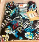 CHILD Scrub Set Pant  Top Spiderman on black bg Cherokee Tooniforms