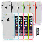 ULTRA THIN CRYSTAL CLEAR HARD CASE COVER FOR iPHONE 5 5C FREE SCREEN PROTECTOR