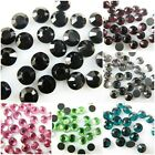 Wholesale Mixed Faltback Hotfix Iron Sewing Decorate Crystal Rhinestone 6mm SS30