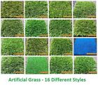 4m x 2m Artificial Garden Grass Realistic Natural Looking Astroturf & Lawn
