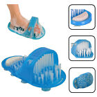 Easy Shower Foot Scrubber Feet Cleaner Bath Washer Brush Pumice Stone Massager