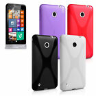 Yousave Accessories For Nokia Lumia 530 Stylish Silicone Gel Phone Case Cover UK