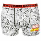 Marvel Kids Boys M Comics Single Boxer Shorts Casual Printed Underwear Junior