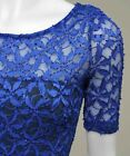 Ladies figure-hugging Stretch, Bodycon Lace Dress sizes 6 to 20 RRP£25