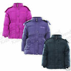 Girls School Coat Girls Jacket Padded Style Removable Hood New Age 3-13 Years