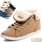 WINTER Boots Sneaker trainers High society Padded Ankle Women's Shoes Flat