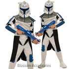 CK157 Star Wars Clone Trooper Captain Rex Child Boys Book Week Hero Costume