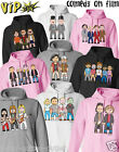 VIPwees Unisex Hoodie Comedy Movie Inspired Funny Caricatures Choose Your Design