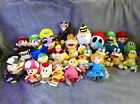 Mario Kart 8 Wii U Character Selection Plush -Choose from 25 Different Soft Toys