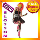 C167 1980's Party Girl Cyndi Lauper Disco Diva Fancy Dress Adult Costume