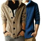 Spring Wool Men's New Korea Sweater Thick Cardigan Men Coat Jacket 3127
