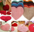 Fashion Carpet  Bath Mat Red Love Heart Chenille Doormat /Bedroom Rug Decorate