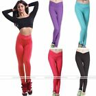 Women High V-waist Tights Casual Sport Tights Leggings Fitness Yoga Run Pants