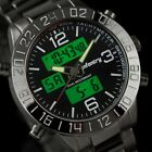 Night Vision Mens Stainless Steel Quartz Army Sport Wrist Watch INFANTRY Luxury