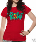 OFFICIAL DC COMICS SUPERMAN - POW - T Shirt  Womens  XL  MAN OF STEEL