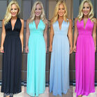 Sexy Women Holiday Summer Boho Long Maxi Evening Party Club Dress Beach Dresses