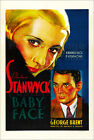 "Poster / Leinwandbild ""BABY FACE, from left: Barbara Stanwyck, George Brent..."""