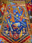 Bally 1974 Em Bow And Arrow Pinball Machine Game Over Relay